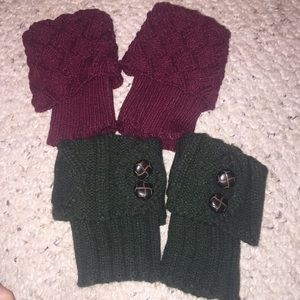 $20 for 2 pairs leg warmer